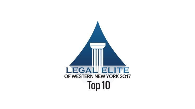 Buffalo Law Journal S 2017 Legal Elite Top 10 Buffalo Business First