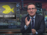 John Oliver blasts parent company Time Warner and pending AT&T deal