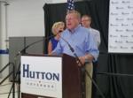 Mark Hutton officially launches run for Kansas governor