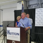 Mark Hutton officially launches run for Kansas governor
