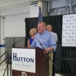 Mark <strong>Hutton</strong> officially launches run for Kansas governor