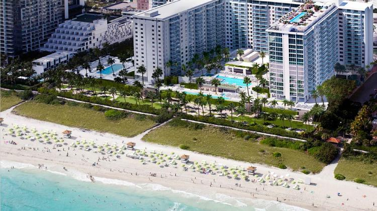 South Beach Hotels >> Starwood Capital Group And Lefrak Sell 1 Hotel South Beach