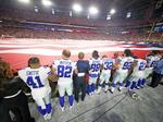 See what Donald Trump is saying about the Dallas Cowboys in NFL anthem fight and who is really America's Team