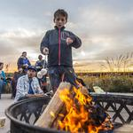 Harley-<strong>Davidson</strong> stories, s'mores and a campfire help celebrate Menomonee Valley: Slideshow