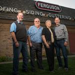 <strong>Ferguson</strong> Roofing Co. battles recession storms to become industry leader