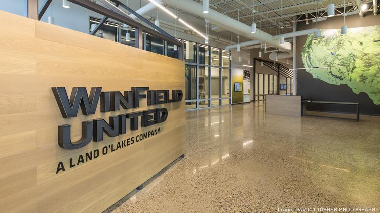 Winfield's new $40 million, 55,000-square-foot research facility in River Falls, Wis.