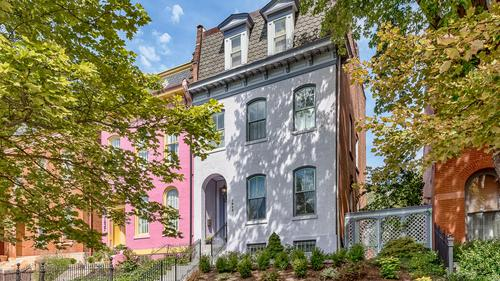 Lovely Painted Lady in the Heart of Lafayette Square