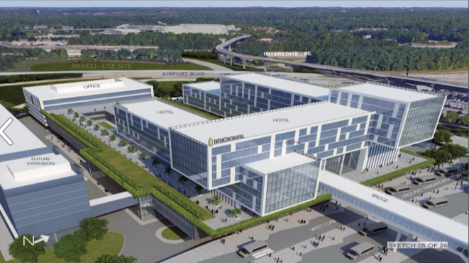 Construction On Airport Hotel To Kick Off Early Next Year Slideshow Atlanta Business Chronicle