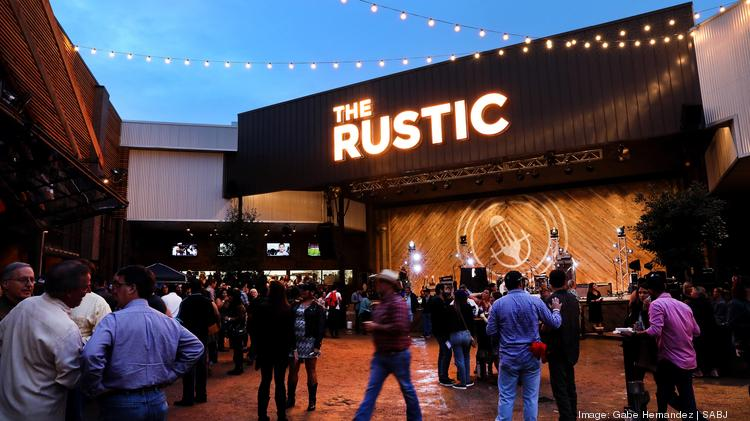 People Gather During The Grand Opening Of Rustic On Thursday Sept 28