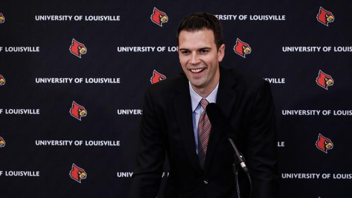 David Padgett out as U of L men's basketball coach