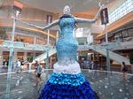 How this Orlando mall is marking a milestone with colossal couture (PHOTOS)