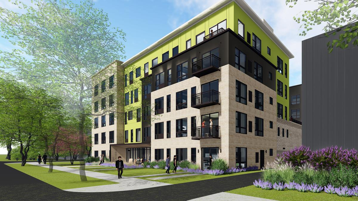 Work begins on micro apartments at former Urban League ...
