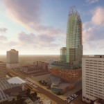 See the project moving forward in skyline competition