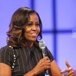 Michelle <strong>Obama</strong> tells 12,000 in Philadelphia: 'Speak up'