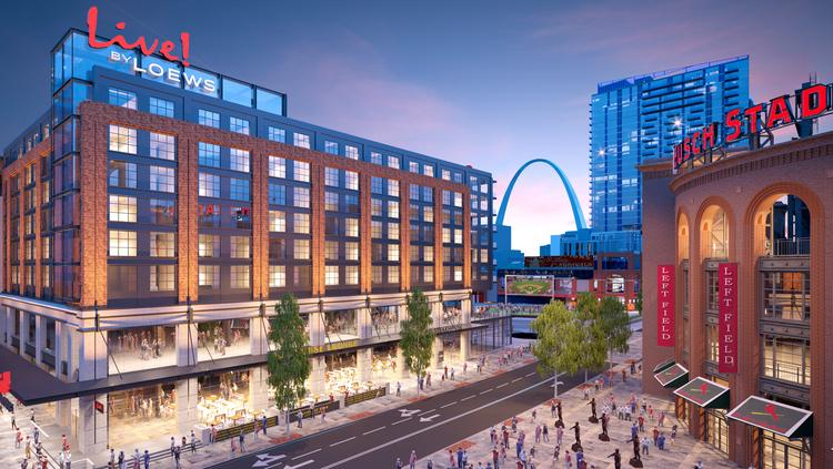 The New Live By Loews Hotel Will Be Designed Dallas Based Hks Architects