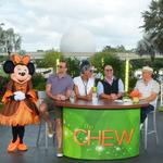 Cooking, dancing and a guy with beer mug-Mouse Ears: Behind the scenes with ABC's The Chew at Epcot (PHOTOS)