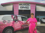 Pink Ribbon Driven: For auto dealer Jenell Ross, fighting breast cancer is a personal quest