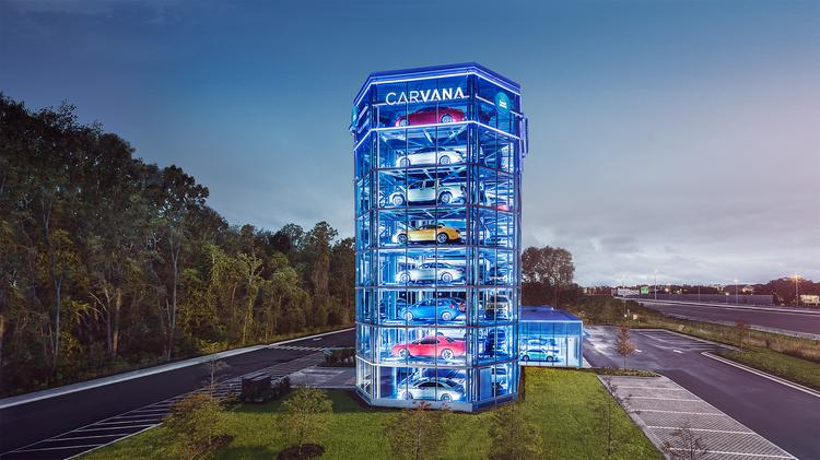 Used Cars Phoenix >> Carvana opens its first car vending machine in this state - Phoenix Business Journal