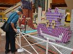 AIA Honolulu's 2017 Canstruction on display: Slideshow