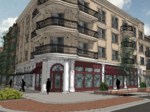 New renderings of Alpharetta City Center's retail areas