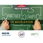 Table of Experts: Partnerships in education