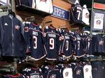 PHOTOS: Blue Jackets' retail shop stocked with new jerseys, apparel