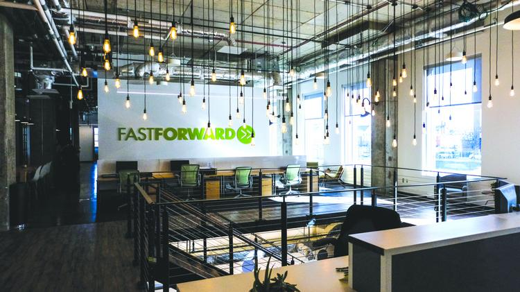 The FastForward 1812 incubator in East Baltimore is designed to serve growing startups and ventures, with or without Hopkins roots.