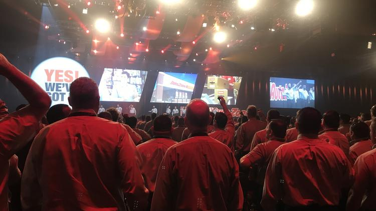 AutoZone hosts 3,000 employees for general session as part