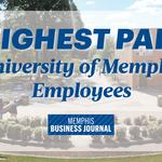 Ranked: The 50 highest-paid University of Memphis employees