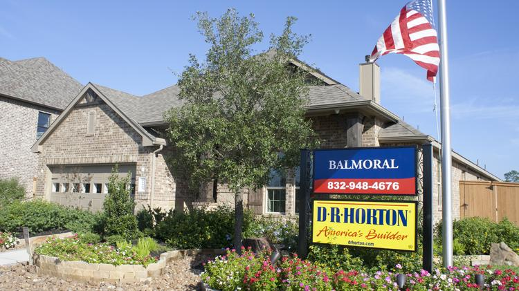 DR Horton, Lennar among top Houston-area homebuilders by
