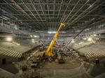 See latest in construction of Milwaukee Bucks' new arena: Slideshow