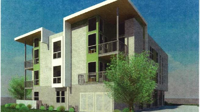 A Rendering Of Cresleigh Homesu0027 Planned Apartments In Folsom.