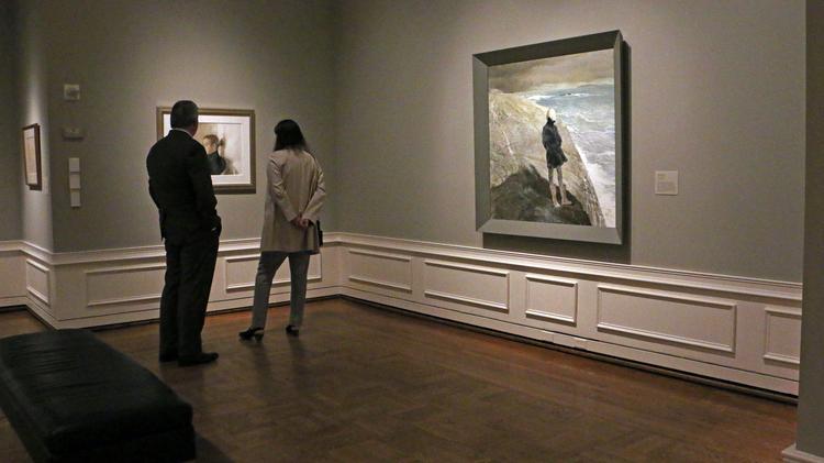 portland art museum shines spotlight on the wyeth family s talents
