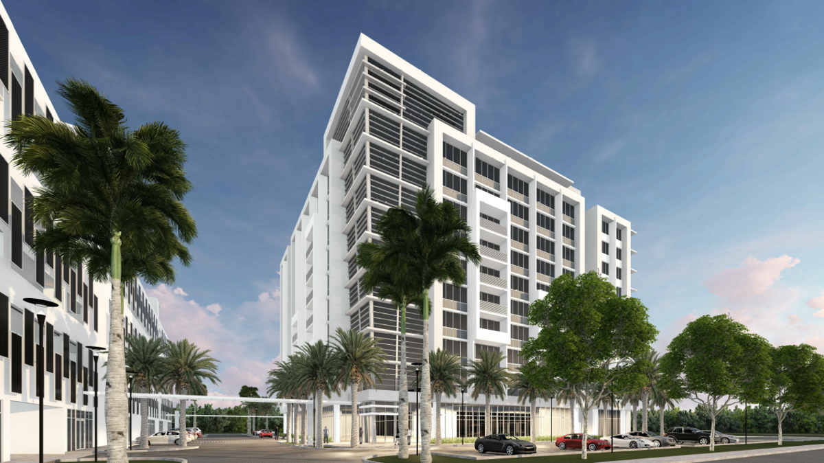 Condo hotel proposed near Aloft, Element hotels in Doral - South ...