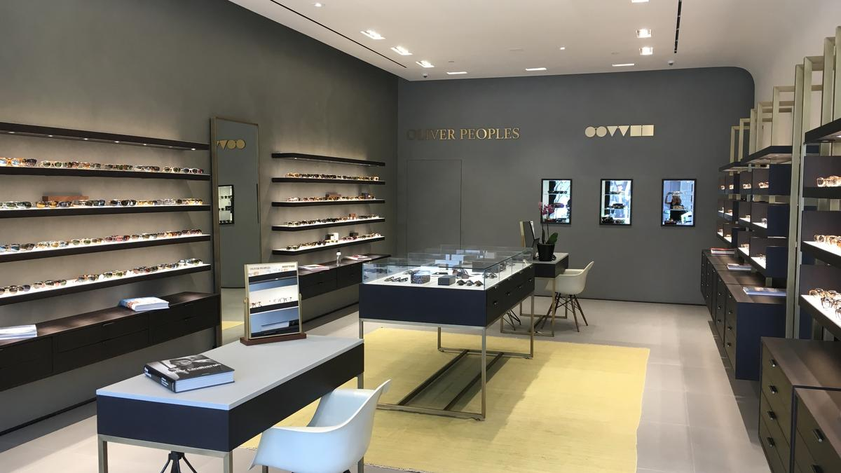 4ec42b9a2892 Oliver Peoples, Warby Parker eyewear companies open first Houston ...