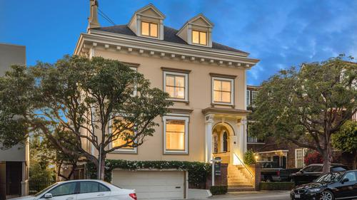 Magnificent Family Home in Presidio Heights