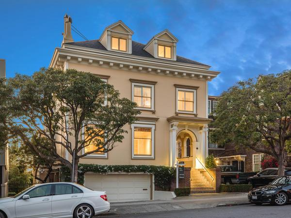Home of the Day: Magnificent Family Home in Presidio Heights