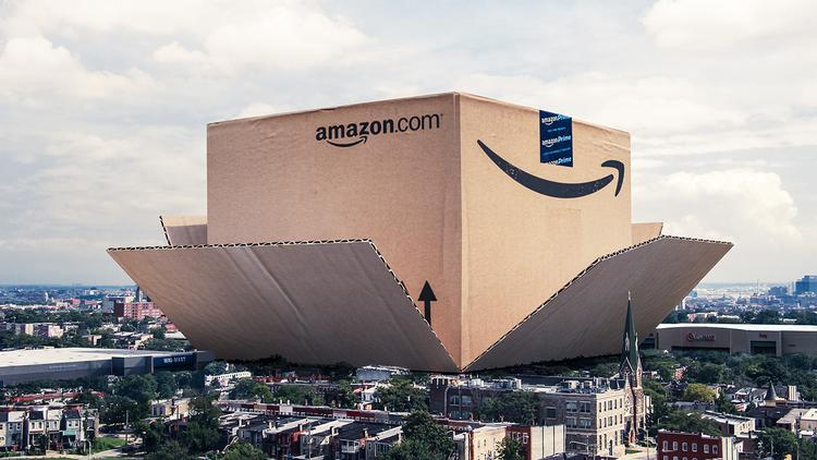Amazon is disrupting the U.S. economy with its massive fulfillment centers.