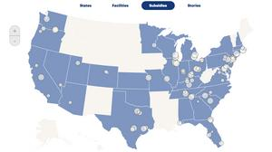 Interactive map: Tracking Amazon's rapidly expanding footprint