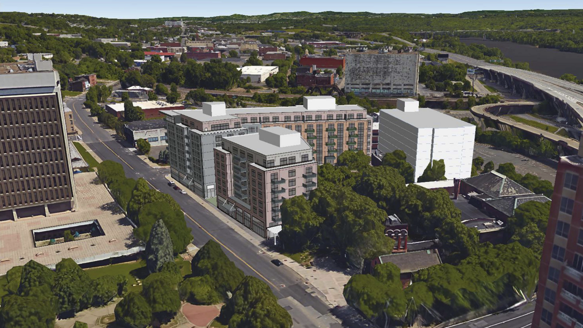 Syracuse developer pioneer cos details plans for hotel for Plan and print syracuse
