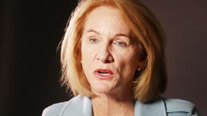 Seattle Mayoral candidate Jenny Durkan speaks to the PSBJ on Oct. 10, 2017.
