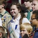 Tell us: What do you think of girls in the Boy Scouts?