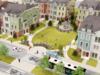 Highland Park Village's first phase under construction