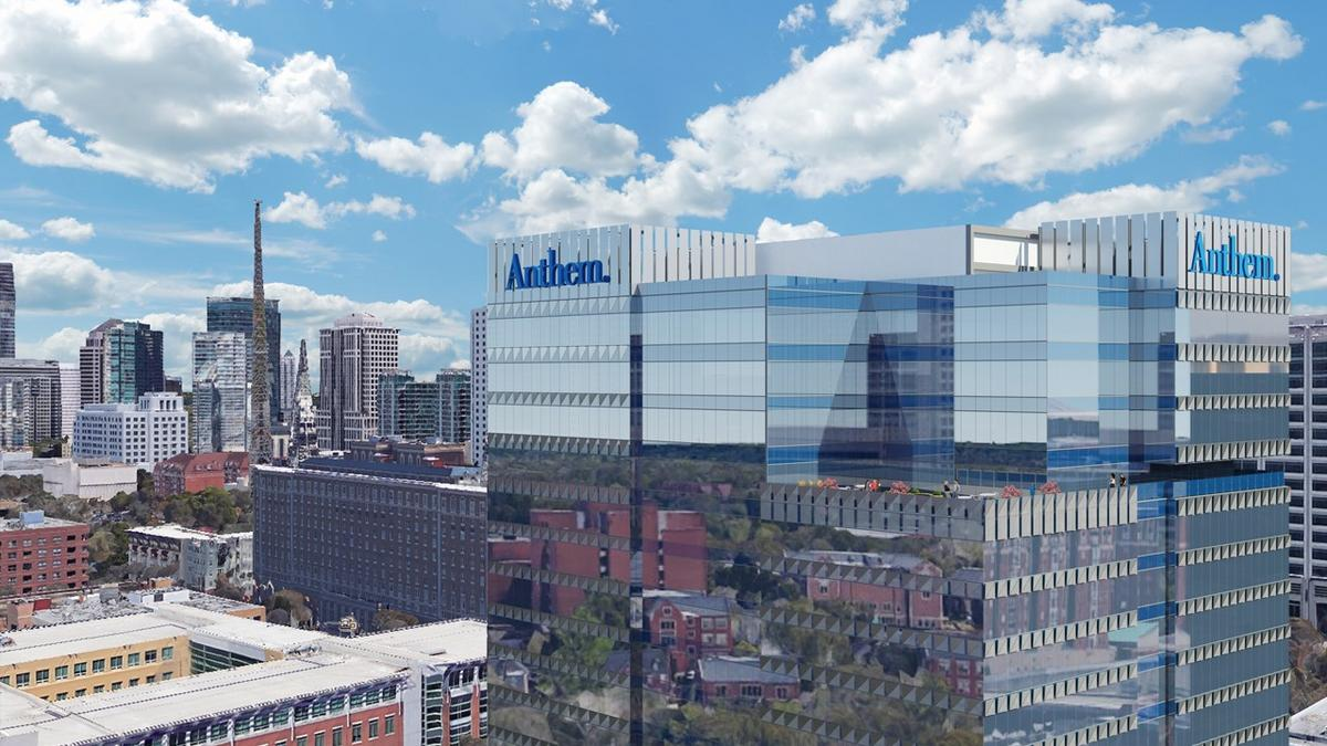 Anthem signs lease to build 21-story IT services hub at Tech