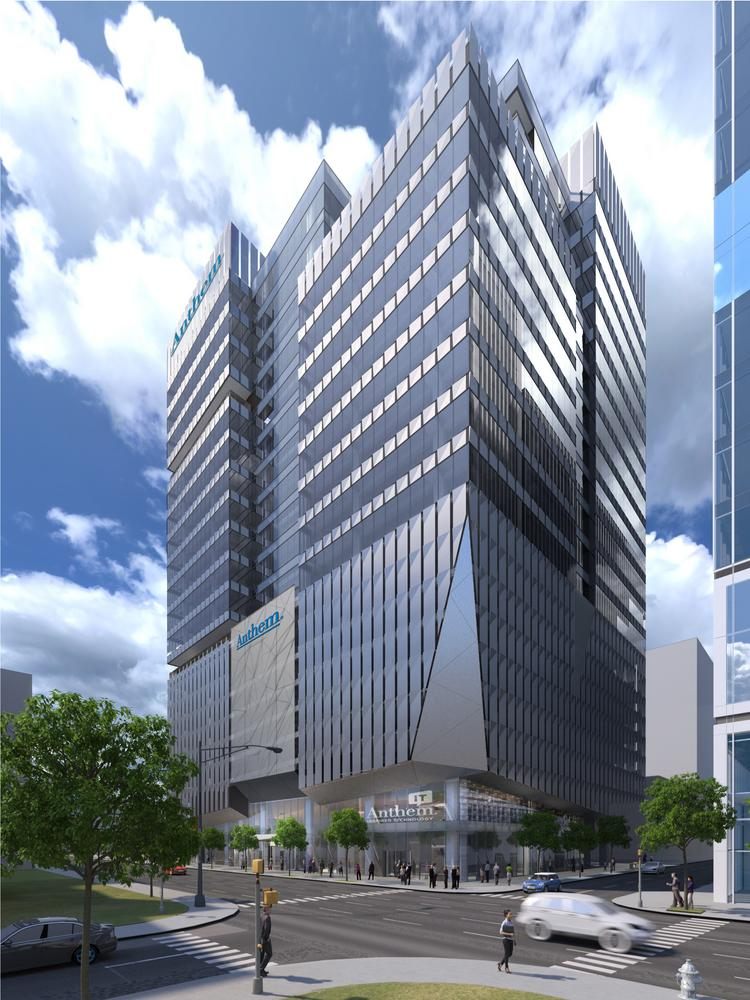 Anthem Signs Lease To Build 21 Story It Services Hub At Tech Square
