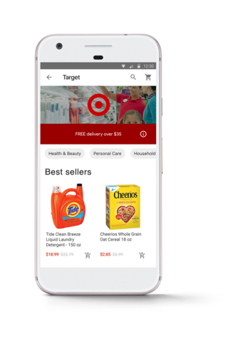 Target Implements Google Express Ordering Nationwide To Compete With