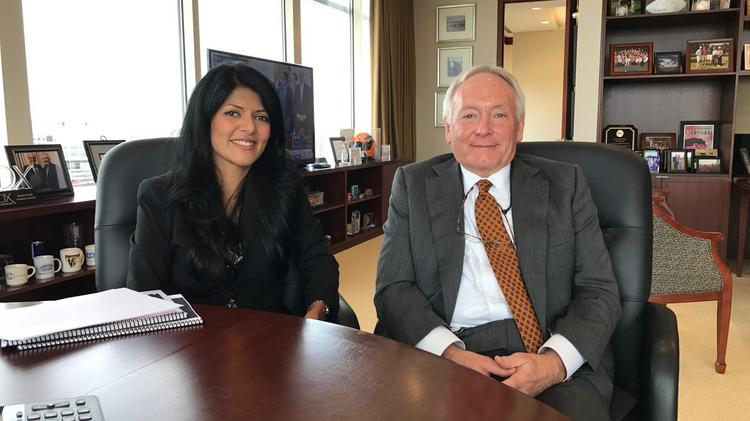 Atlanta committee for progress develops blueprint for next mayor duriya farooqui executive director of acp with john dyer ceo of cox enterprises malvernweather Image collections