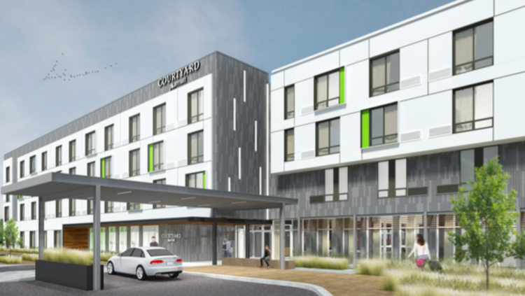 Courtyard By Marriott Rendering