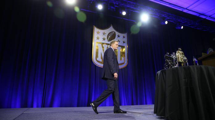 The NFL's veneer of unity is cracking