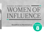 Chicago Business Journal Women of Influence nominating period ends Wednesday